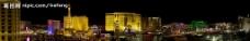 拉斯维加斯夜景图片