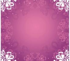 花纹树叶矢量素材图片