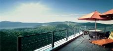 山顶露台图片