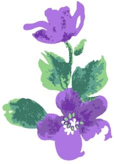古典花卉底纹0018