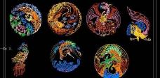 CAD中国吉祥装饰素材图片