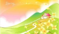 春天風景圖片