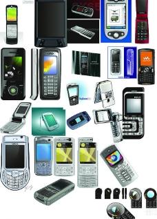 23款 cdr格式 的 手机 矢量 素材图片