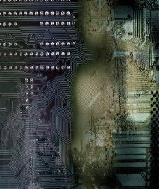 电子背景图片