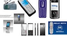 9款 AI格式的 手机 矢量 素材图片