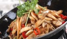 干锅茭白图片