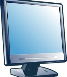 液晶显示器矢量设计素材图片
