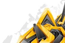 3D水晶风格立体箭头1图片