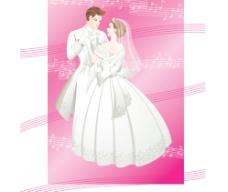 浪漫的婚礼图片