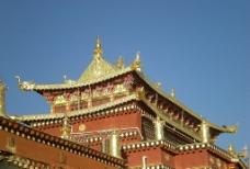 松赞林寺(大殿顶)图片