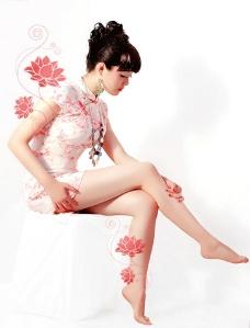 荷花美女仙子图片