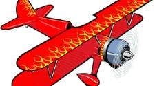 飞机矢量素材图片