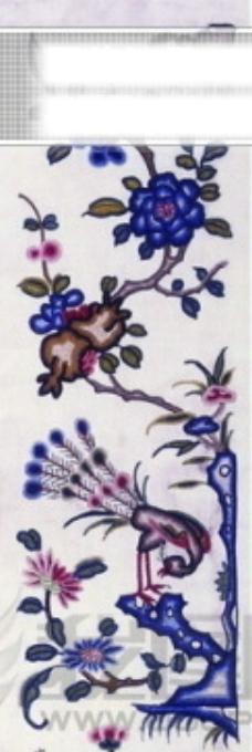 人物 花朵 绘画 古画 花瓶 龙 手绘 psd分层素材源文件 中国传统元素