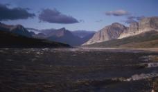 山水剪影图片