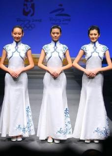 京奥颁奖礼仪服装图片