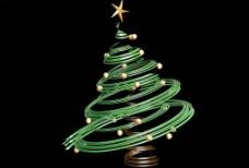 3D圣诞树图片