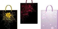 3款花纹手挽袋图片