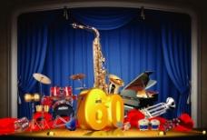欢乐 音乐 乐器 乐队 乐团图片
