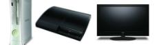 液晶电视游戏机和xbox360图片