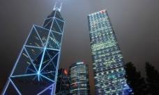 香港夜景图片