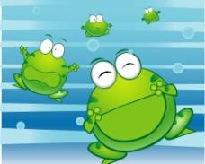 绿豆蛙图片