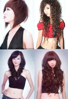 美发 发型  卷发 美女 长发图片