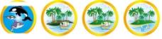 海島椰樹圖片