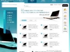 韩国简洁商务网页设计模板图片