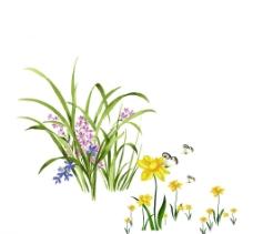 青青草丛图片