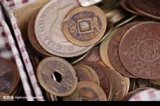 清代小钱及民国硬币