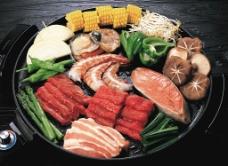 美食餐饮 海鲜拼盘图片