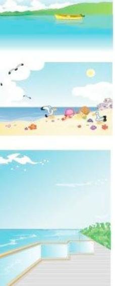 夏天海边图片
