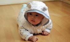 可爱婴儿摄影图片