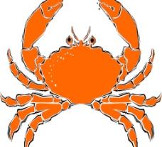 大黃螃蟹圖片
