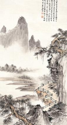 千峰竞秀图片