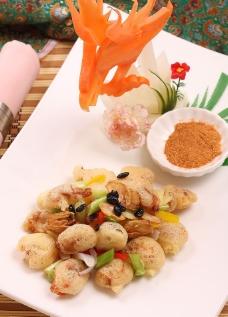 酥炸越南软壳蟹图片
