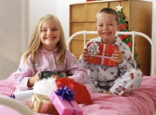 圣诞快乐儿童图片