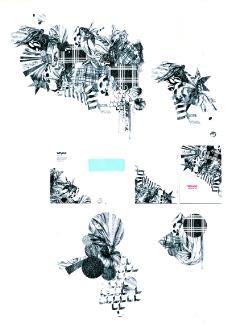 热潮涂鸦式设计0064