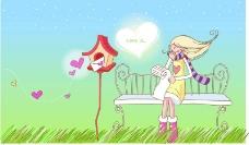 情人节卡通0031