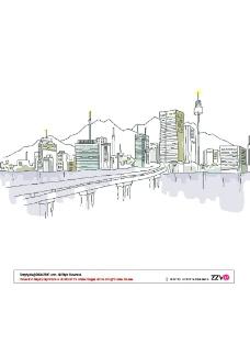 抽像城市风景0097