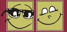 卡通笑脸图片