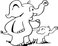 动物漫画6384