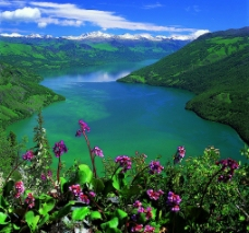 如诗如画的喀纳斯湖图片