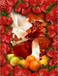 牛奶 水果 新鲜 蔬菜图片