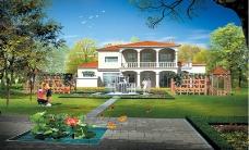 住宅小区景观0126
