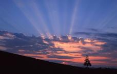 黄昏风景图片