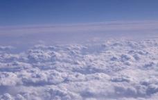 云层特写(晴天)图片