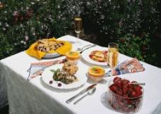 法式晚餐图片