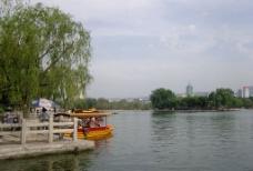 济南大明湖图片