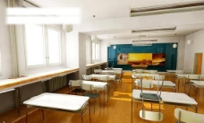 室内设计室内空间教室3d效果图图片
